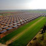 Campo solar 640 KW
