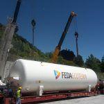 Transporte de Carga Pesada y Sobredimensionada - Deposito GNL