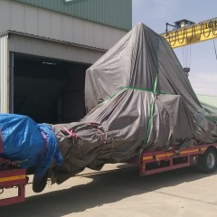 AC PROJECT & FORWARDING MOVES MILLING MACHINE TO ESTONIA (total weight 53 tons )