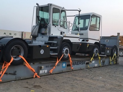 2 Terberg YT182 to West Africa and 2 Mafi Trucks 4×4 to Spain
